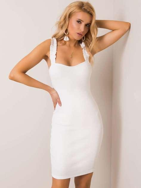 Ecru sukienka Majorca RUE PARIS