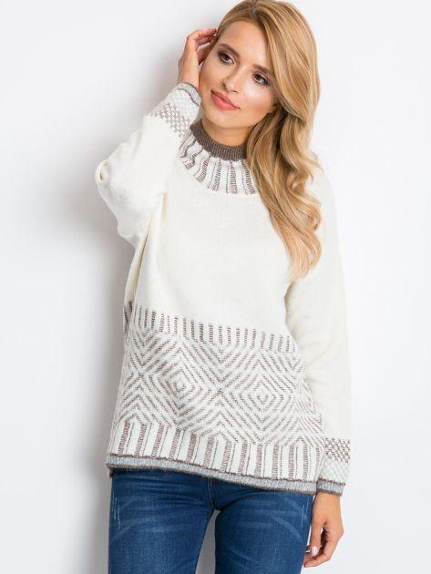 Ecru sweter Hope                              zdj.                              5