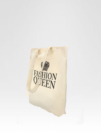 Ekotorba na zakupy z nadrukiem korony FASHION QUEEN                                  zdj.                                  3