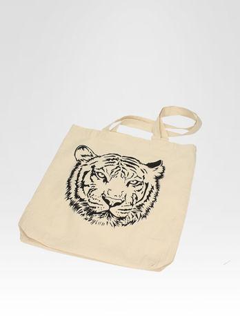 Ekotorba na zakupy z nadrukiem tygrysa                                  zdj.                                  6