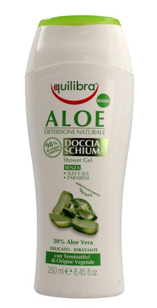 """Equilibra Aloe Kremowy Żel pod prysznic  250ml"""""""