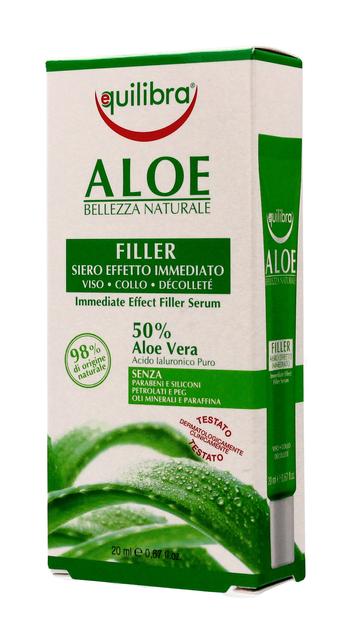 """Equilibra Aloe Serum wypełniające do twarzy,szyi i dekoltu 50% aloesu  20ml"""""""