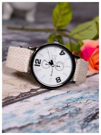 FASHION Nowoczesny zegarek RETRO idealne podkreślenie wizerunku                                  zdj.                                  2