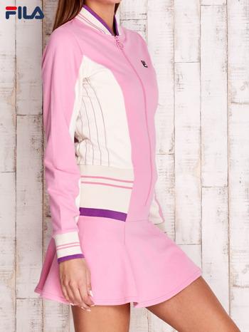 FILA Różowa sukienka sportowa z suwakiem                                  zdj.                                  3