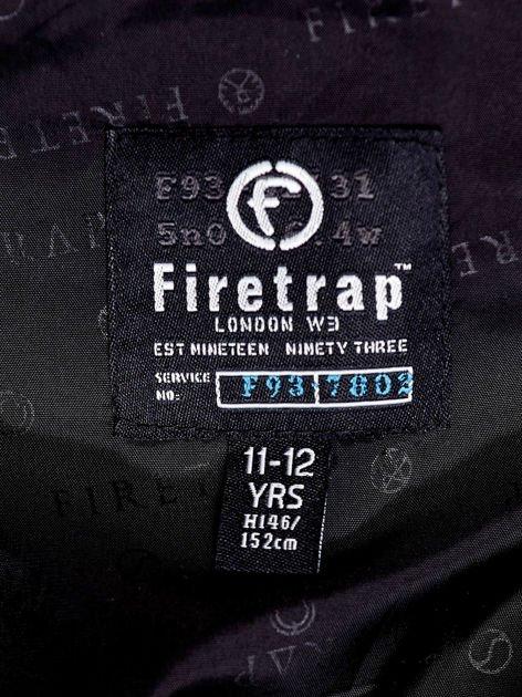 FIRETRAP Czarna pikowana kurtka dla chłopca                              zdj.                              10