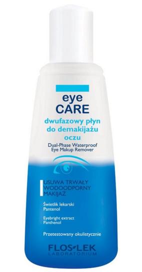 FLOSLEK Dwufazowy płyn do demakijażu oczu 135 ml