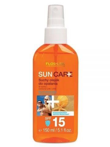 FLOSLEK Sun Care Suchy olejek do opalania SPF 15 150 ml