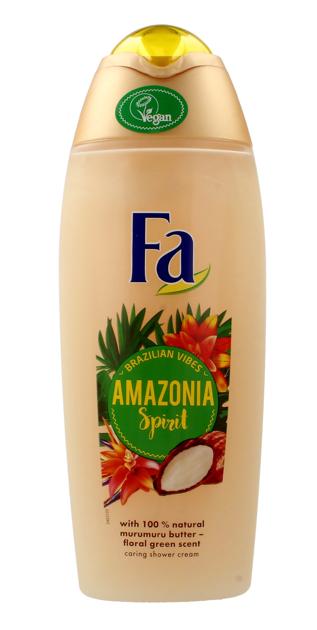 """Fa Amazonia Spirits Żel pod prysznic kremowy dla kobiet  400ml"""""""