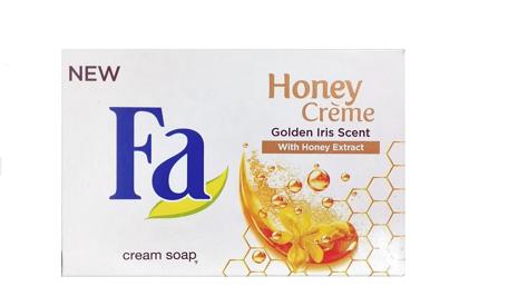 "Fa Honey Creme Mydło w kostce Golden Iris  90g"""