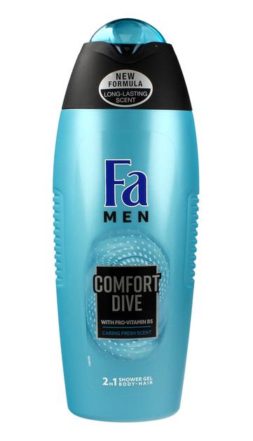 "Fa Men Comfort Dive Żel pod prysznic 2w1  400ml"""