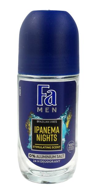 "Fa Men Ipanema Nights Dezodorant roll-on męski  50 ml"""