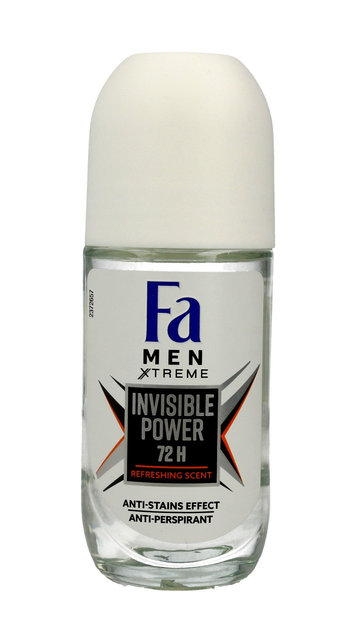 "Fa Men Xtreme Invisible Power 72H Dezodorant roll-on 50ml"""