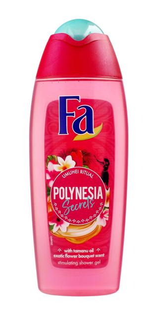 "Fa Polynesia Secrets Żel pod prysznic Umuhei Ritual 400ml"""