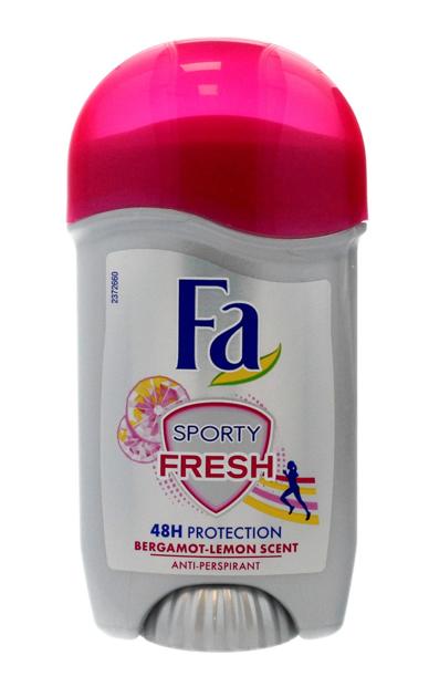 """Fa Sporty Fresh 48H Dezodorant w sztyfcie  50ml"""""""