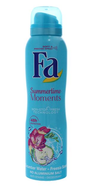 "Fa Summertime Moments Dezodorant spray  150ml"""