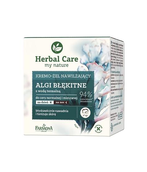 """Farmona Herbal Care Krem-żel nawilżający Algi Błękitne na dzień i noc  50ml"""""""