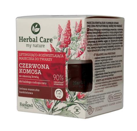 """Farmona Herbal Care Maseczka do twarzy liftingująco rozświetlająca Czerwona Komosa  50ml"""""""