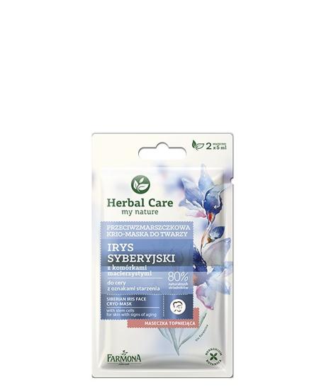 """Farmona Herbal Care Maseczka-krio przeciwzmarszczkowa do twarzy Irys Syberyjski  2 x 5ml"""""""