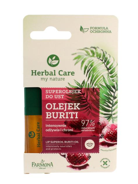 """Farmona Herbal Care Superolejek do ust odżywczo-ochronny Buriti  5ml"""""""