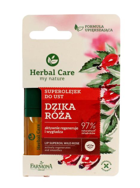 """Farmona Herbal Care Superolejek do ust regenerująco-wygładzający  5ml"""""""