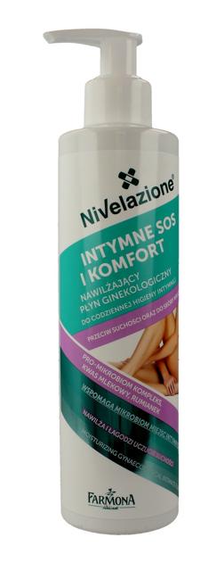 """Farmona Nivelazione Higiena Intymna Nawilżający Płyn ginekologiczny Intymne SOS i Komfort 250ml"""""""