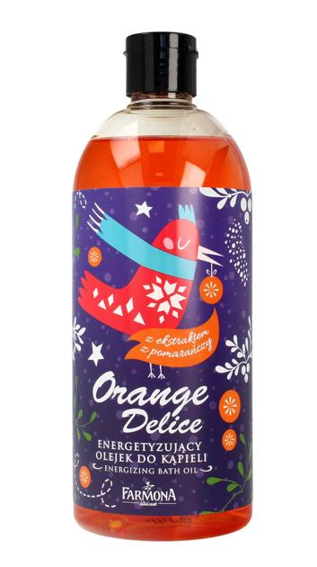 """Farmona Olejek do kąpieli energetyzujący Orange Delice- wersja świąteczna  500ml"""""""