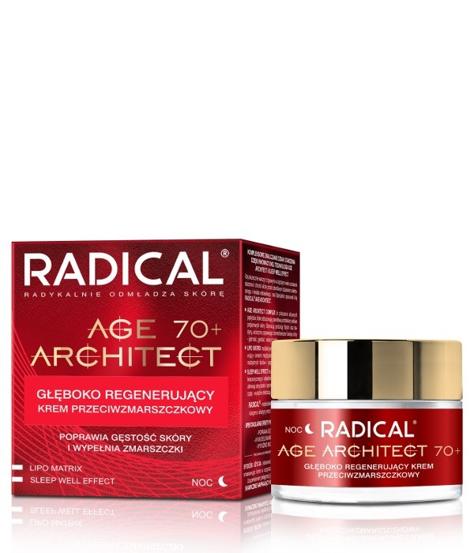 """Farmona Radical Age Architect 70+ Głęboko regenerujący Krem przeciwzmarszczkowy na noc  50ml"""""""