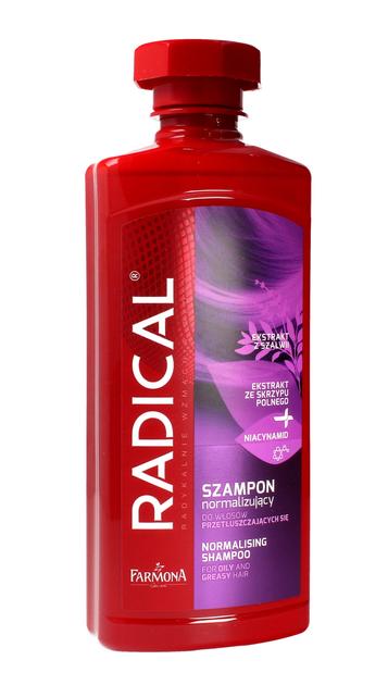 """Farmona Radical Szampon normalizujący do włosów przetłuszczających się  400ml"""""""