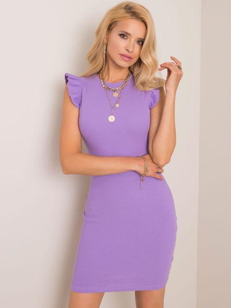 Fioletowa sukienka Khloe RUE PARIS