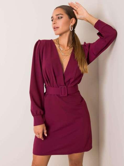 Fioletowa sukienka Maisa