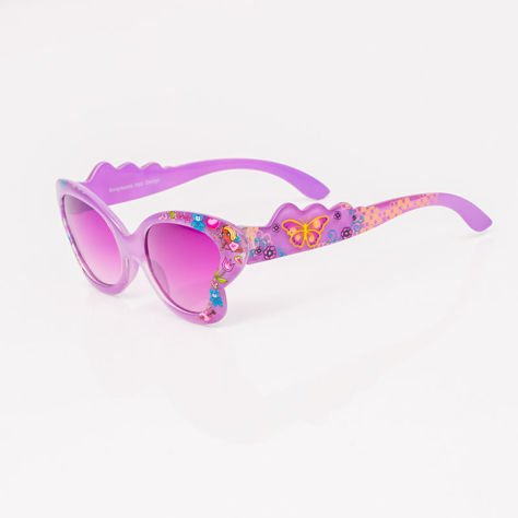 Fioletowe Dziecięce Okulary przeciwsłoneczne                              zdj.                              2