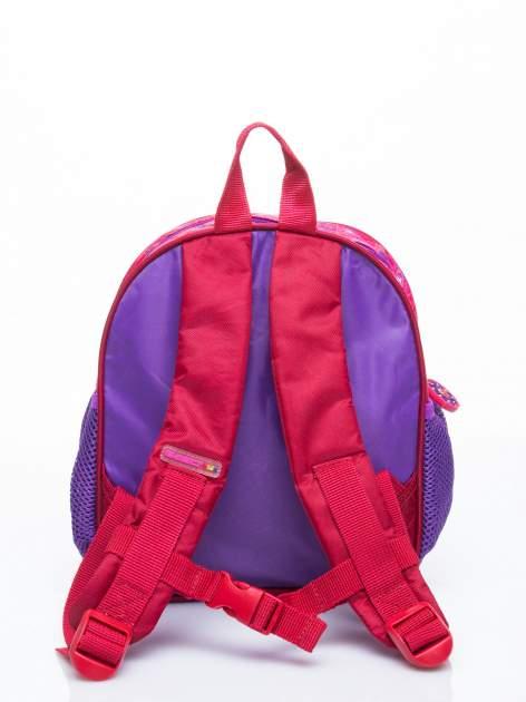 Fioletowy plecak na wycieczkę DISNEY Ulica Sezamkowa                                  zdj.                                  4