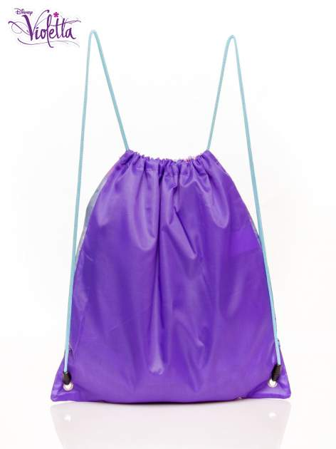 Fioletowy plecak worek DISNEY Violetta                                  zdj.                                  2