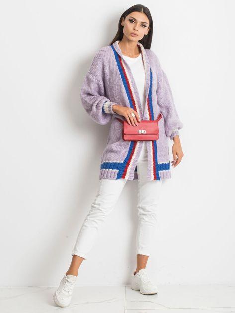 Fioletowy sweter Lavish                              zdj.                              4