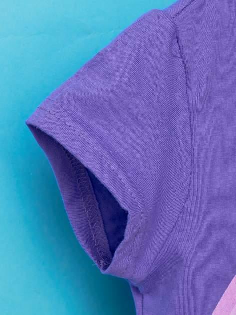 Fioletowy t-shirt chłopięcy GUMBALL                                  zdj.                                  5