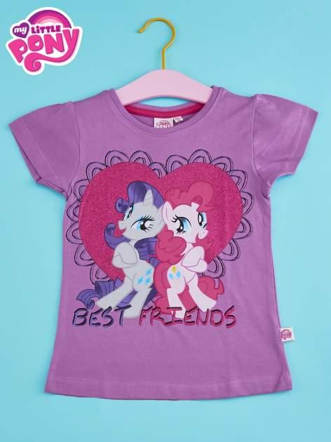 Fioletowy t-shirt dla dziewczynki MY LITTLE PONY