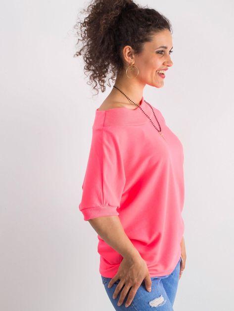 Fluo różowa bluzka Lemontree                              zdj.                              2