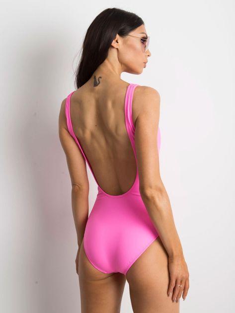 Fluo różowy kostium kąpielowy Endless                              zdj.                              2