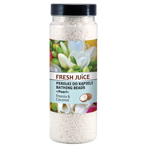 """Fresh Juice Perełki do kąpieli Freesia & Coconut  450ml"""""""