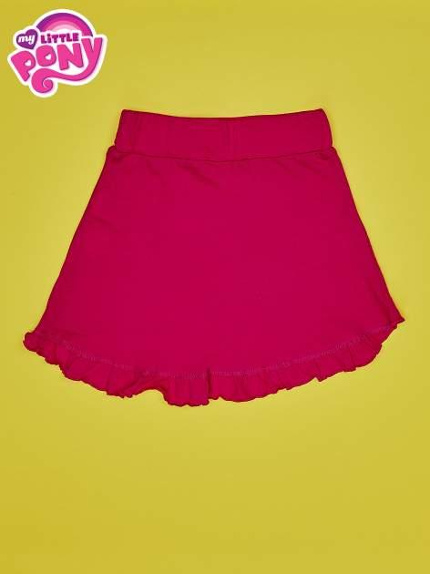 Fuksjowa spódnica z falbanami dla dziewczynki MY LITTLE PONY                                  zdj.                                  2