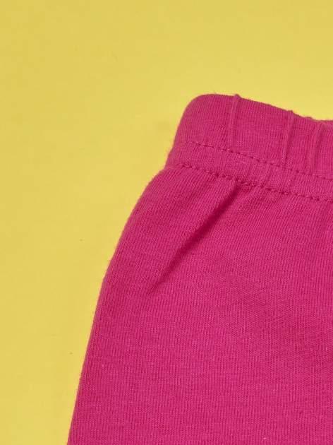 Fuksjowe legginsy dla dziewczynki GARFIELD                                  zdj.                                  3