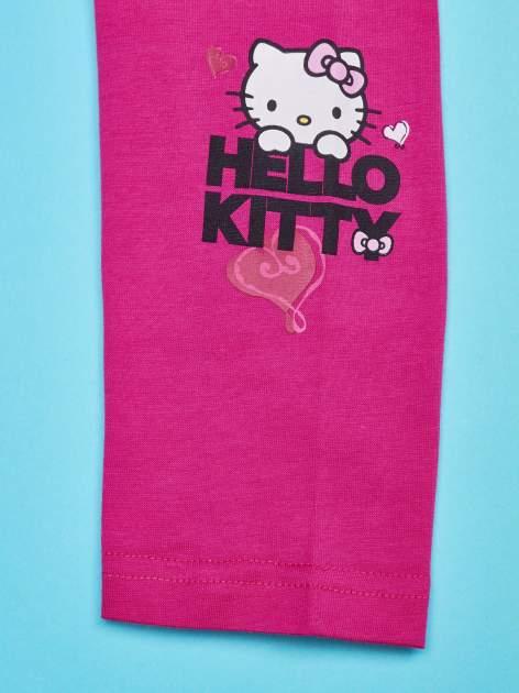Fuksjowe legginsy dla dziewczynki HELLO KITTY                                   zdj.                                  4