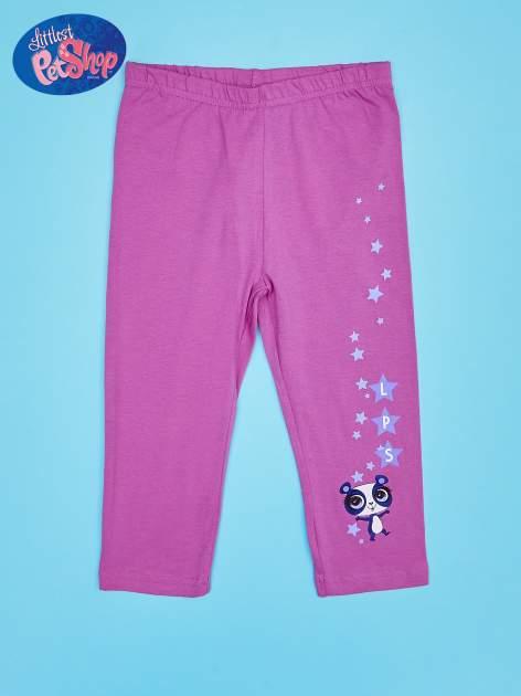 Fuksjowe legginsy dla dziewczynki LITTLEST PET SHOP                                  zdj.                                  1