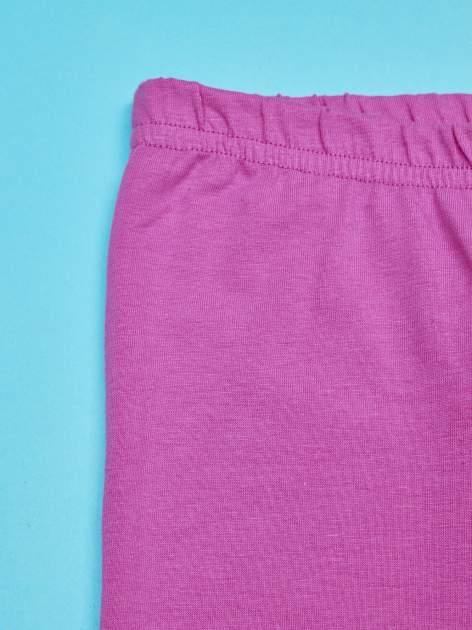 Fuksjowe legginsy dla dziewczynki LITTLEST PET SHOP                                  zdj.                                  3
