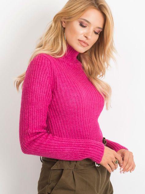 Fuksjowy sweter Milo                              zdj.                              1