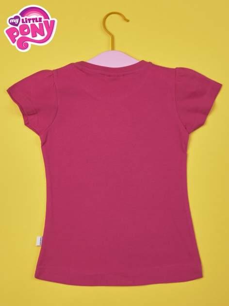 Fuksjowy t-shirt dla dziewczynki  motywem bajki MY LITTLE PONY                                   zdj.                                  2