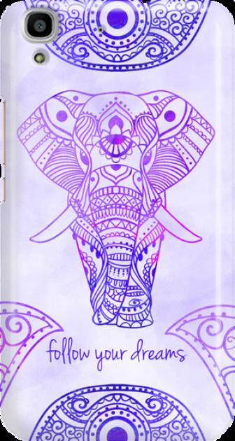 Funny Case ETUI HUAWEI Y6 ELEPHANT