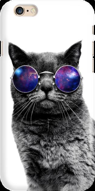 Funny Case ETUI IPHONE 6G CAT