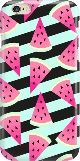 Funny Case ETUI IPHONE 6G WATERMELON