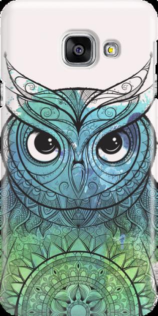 Funny Case ETUI SAMSUNG A3 2016 OWL